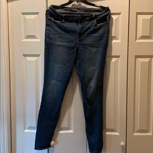 Women's old navy size 16 long jeans